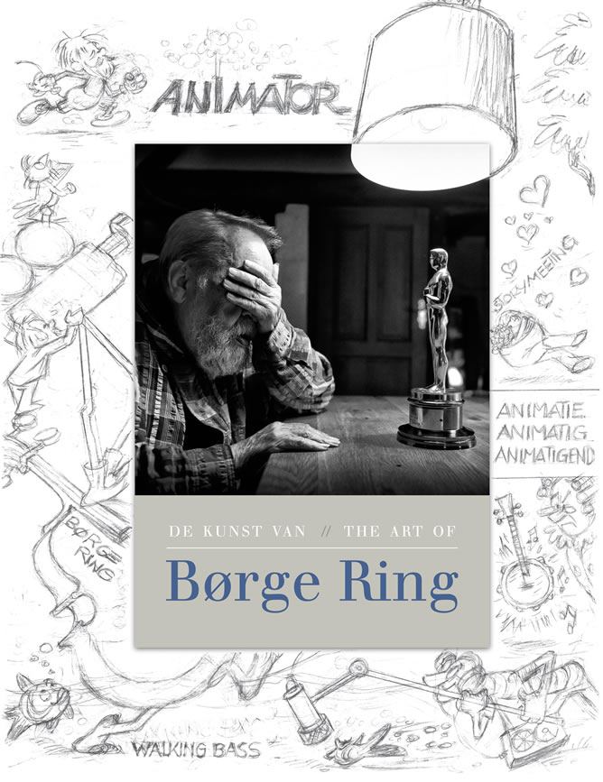 Artbook of Borge Ring - both in English and in Dutch!